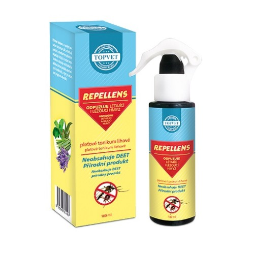 TOPVET Repellens pleť.lihové tonikum 100ml