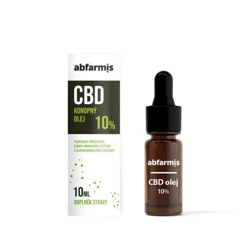 Abfarmis CBD olej 10 percent 10ml