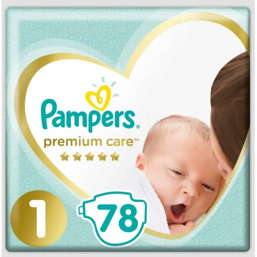 Pampers Premium Care 1 Newborn 78ks