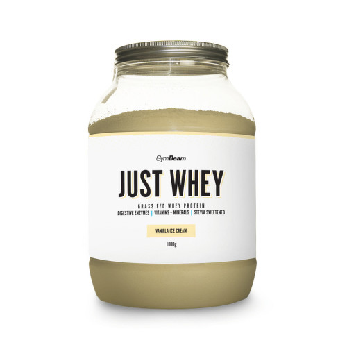 GymBeam Just Whey protein vanilla ice cream 1000g