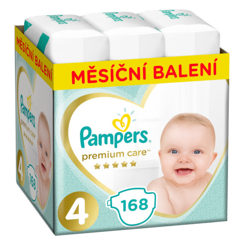 Pampers Plenky Premium Monthly Box S4 168