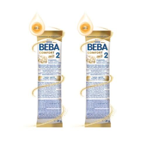 Vzorek - BEBA COMFORT 2 HM-O 2x31g BE907