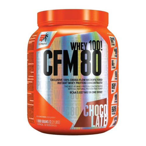 EXTRIFIT CFM Instant Whey 80 1000g Chocolate