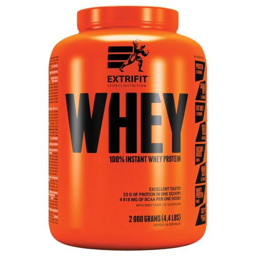 EXTRIFIT 100 percent Instant Whey Protein 80 2000g Choco