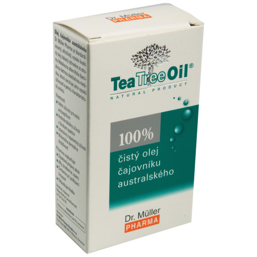 Tea Tree Oil 100 percent čistý 30ml Dr.Müller