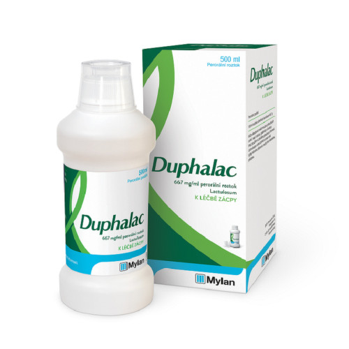 DUPHALAC 667MG ML perorální SOL 1X500ML IV
