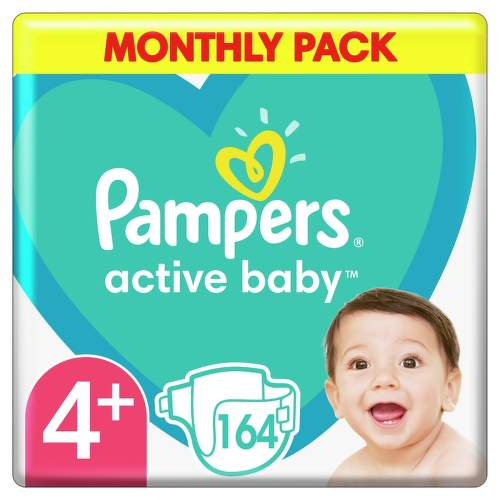 Pampers Active Baby Pleny S4 164ks