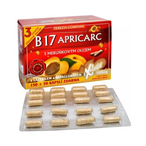 TEREZIA B17 APRICARC s meruň.olejem cps.150 30