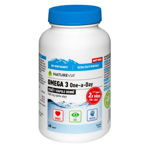 Swiss NatureVia Omega 3 One a Day cps.60