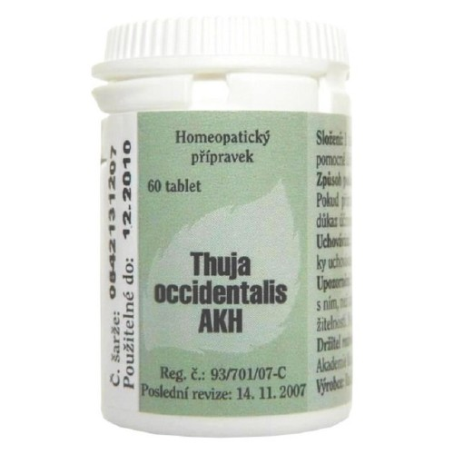 THUJA OCCIDENTALIS AKH 1,5MG neobalené tablety 60