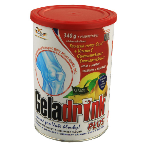 Geladrink Plus citrón 340g