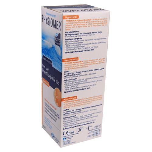 Physiomer Hypertonic 135ml - II. jakost