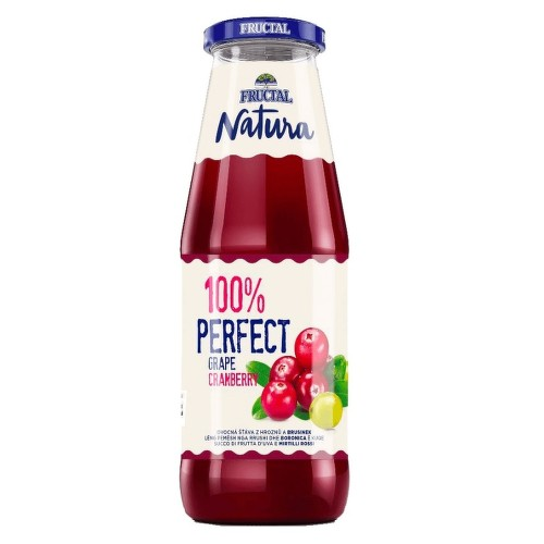 NATURA brusinka hrozno 100 percent 700 ml