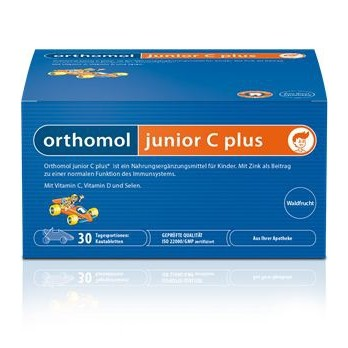 Orthomol junior C plus mandarinka 30 dávek