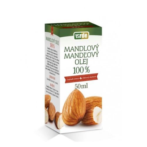 Mandlový olej 100 percent 50ml