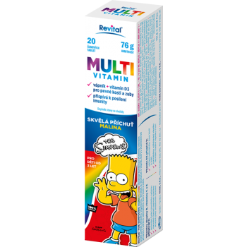 The Simpsons Multivitamin 20 eff. tablet