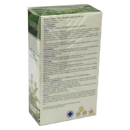 SPECIES UROLOGICAE PLANTA perorální léčivý čaj 20X1.5GMSÁČ