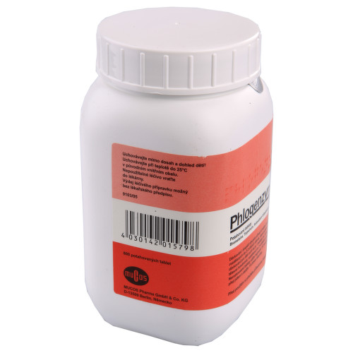 PHLOGENZYM perorální potahované tablety 800