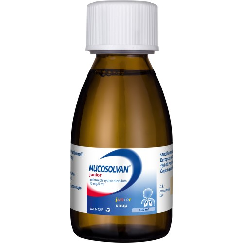 MUCOSOLVAN JUNIOR perorální sirup 1X100ML