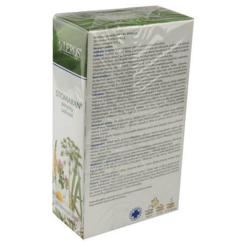 STOMARAN perorální léčivý čaj 20X1.5GM