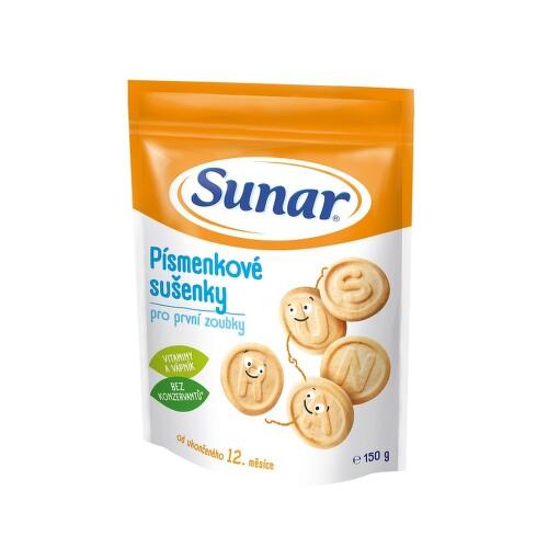 Sunarka dětské sušenky písmenkové 150g