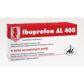 IBUPROFEN AL 400 perorální potahované tablety 30X400MG