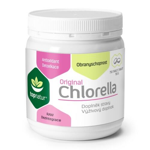 Chlorella 200mg tbl.750 TOPNATUR