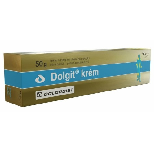 DOLGIT 50MG/G krém 50G