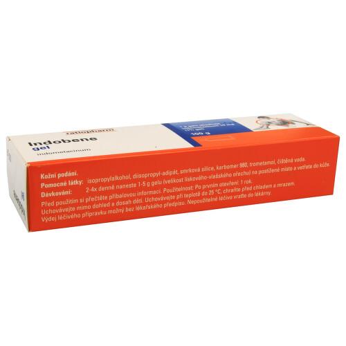 INDOBENE kožní podání gely 1X100GM