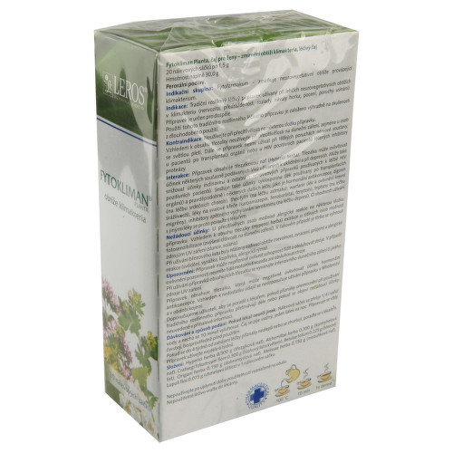 FYTOKLIMAN PLANTA perorální léčivý čaj 20X1.5GMSÁČKY