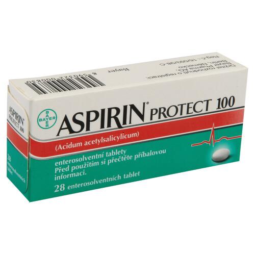ASPIRIN PROTECT 100 perorální enterosolventní tableta 28X100MG