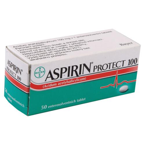 ASPIRIN PROTECT 100 perorální enterosolventní tableta 50X100MG