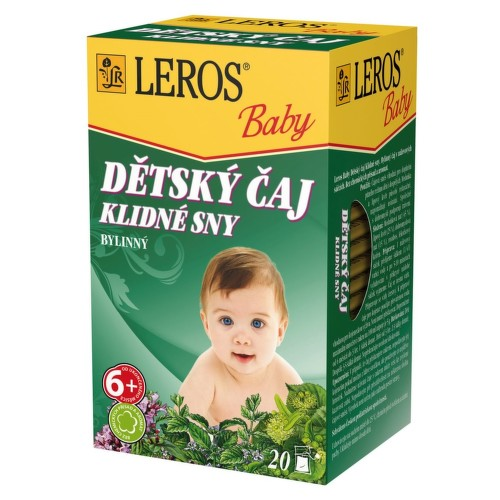 LEROS BABY Dětský čaj Klidné sny n.s.20x1.5g