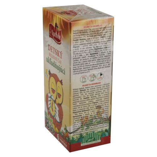 Apotheke Dětský čaj BIO uklidňující 20x1.5g n.s.