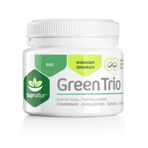Green Trio Topnatur Chlor.Spirul.Z.ječmen tbl.180