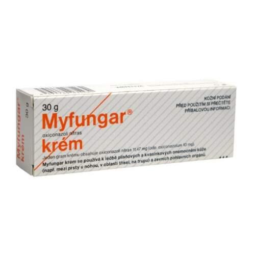MYFUNGAR 10MG/G krém 30G