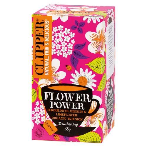Clipper BIO bylin.čaj Bez Ibišek Limetka 20x1.75g