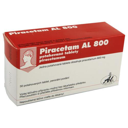 PIRACETAM AL 800 perorální potahované tablety 30X800MG