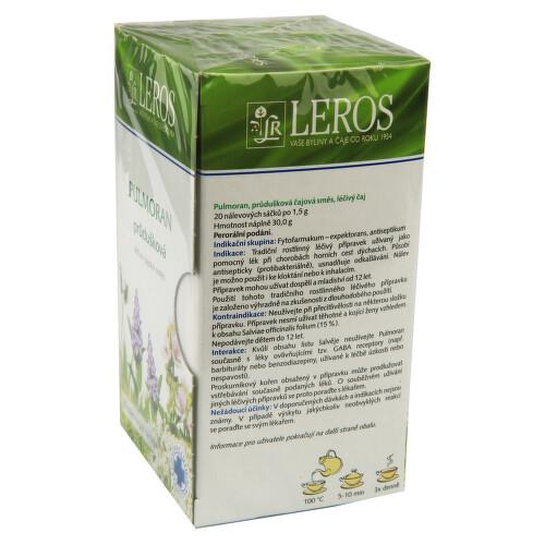 PULMORAN perorální léčivý čaj 20X1.5GM