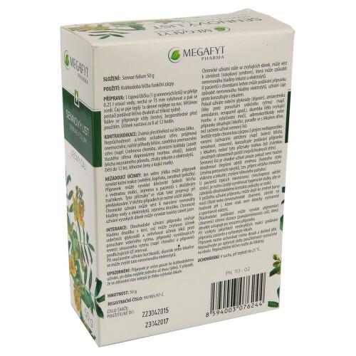 SENNOVÝ LIST perorální léčivý čaj 1X50GM