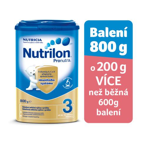 Nutrilon 3 Pronutra 800g