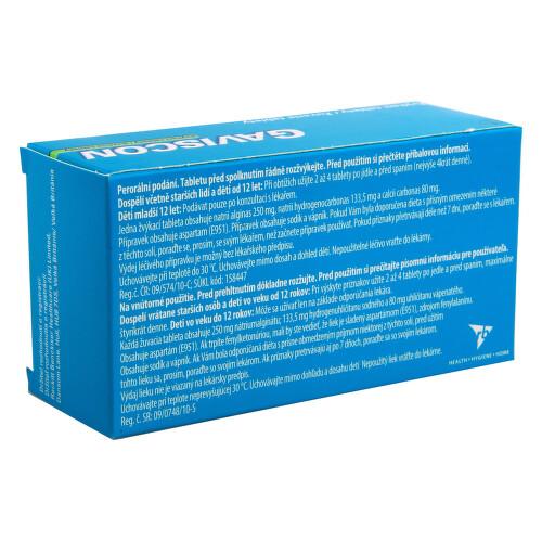 GAVISCON ŽVÝKACÍ TABLETY perorální žvýkací tableta 48