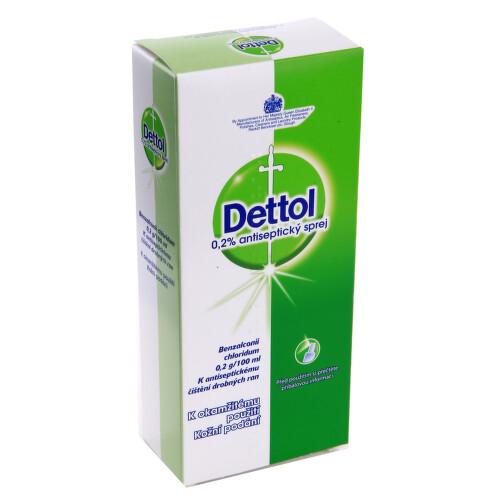 DETTOL 0,2 % ANTISEPTICKÝ SPREJ kožní podání sprej, roztok 1X100ML