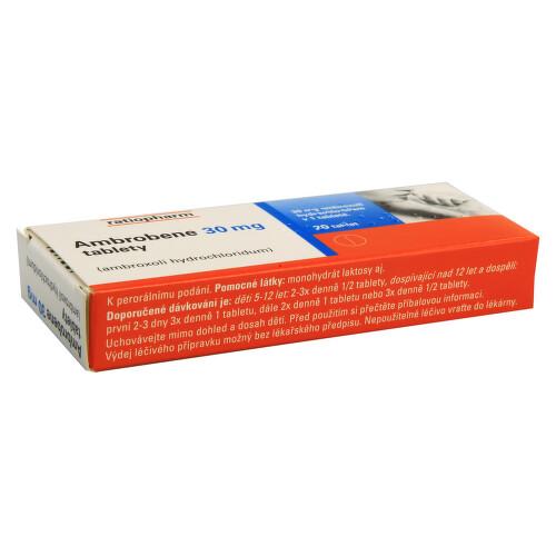 AMBROBENE 30 MG perorální neobalené tablety 20X30MG
