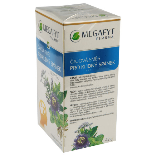 ČAJOVÁ SMĚS PRO KLIDNÝ SPÁNEK perorální léčivý čaj 20X2.1GM