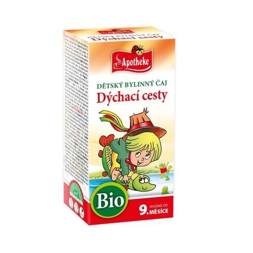 Apotheke Dětský čaj BIO nachlazení 20x1.5g n.s.