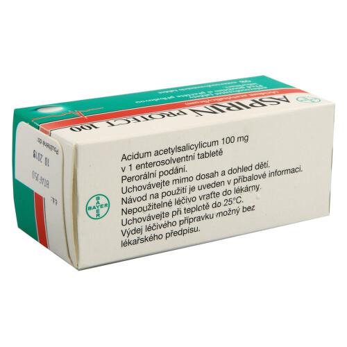 ASPIRIN PROTECT 100 perorální enterosolventní tableta 98X100MG