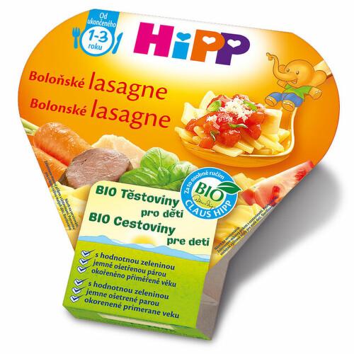 HiPP DĚT.TĚST. BIO Boloň. lasagne 250g