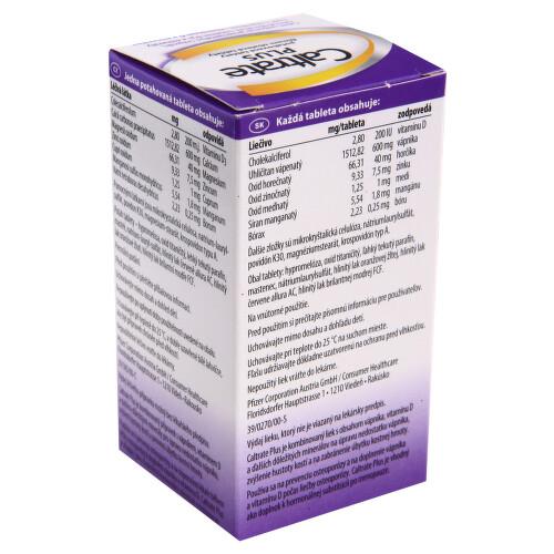 CALTRATE PLUS perorální potahované tablety 30