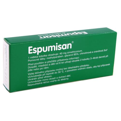 ESPUMISAN perorální měkké tobolky 50X40MG
